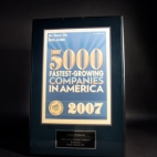 2007 5,000 Fastest Growing Companies in America